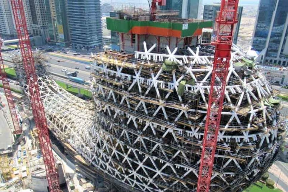 Dubai-Museum-of-the-Future-Construction-credit-Tekla