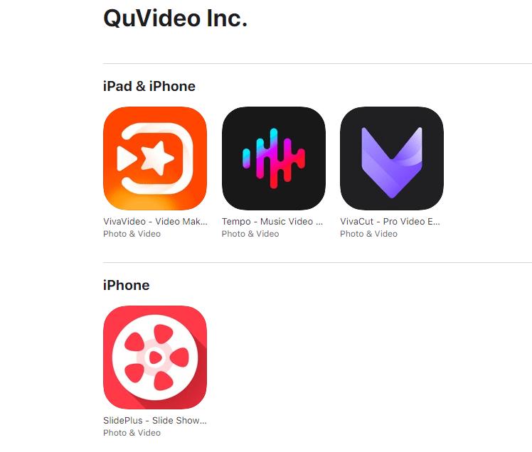 derivatives of vivavideo