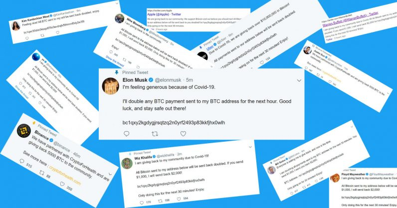 Cryptocurrency Scam Tweets